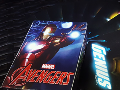 Avengers Iron Man Deck