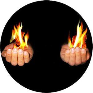 Feuer aus der Hand