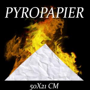 Pyropapier