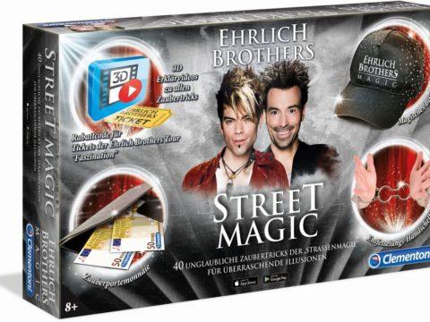 Clementoni Street Magic - Zauberkasten der Ehrlich Brothers