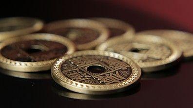 Chinesische Münzen im Set - Chinese Coin Set - Deluxe - Dollar Size