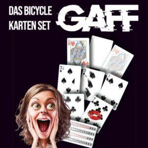 Bicycle - Gaff Cards Set - magischer-anzeiger.de