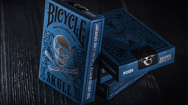 Bicycle Luxury Skull Playing Cards by BOCOPO Playing Card Company - magischer Anzeiger.de