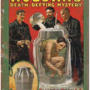 Houdini Blechschild - magischer-anzeiger.de