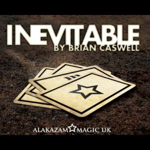 Inevitable RED (DVD and Gimmicks) by Brian Caswell & Alakazam Magic - magischer-anzeiger.de