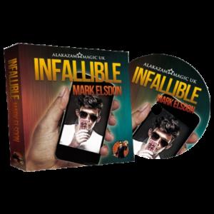 Infallible (DVD and Gimmick) by Mark Elsdon and Alakazam Magic - magischer-anzeiger.de