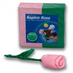 Napkin Rose pink
