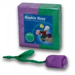 Napkin Rose violett - Hilfsmittel