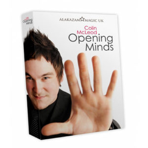 Opening Minds 4 DVD Set by Colin Mcleod and Alakazam Magic - magischer-anzeiger.de