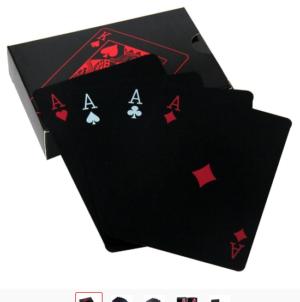 PVC-Poker-Spielkarten