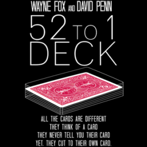 The 52 to 1 Deck Red - magischer-anzeiger.de