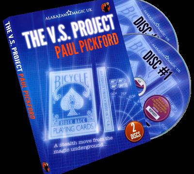 The VS Project (2 DVD) by Paul Pickford - magischer-anzeiger.de