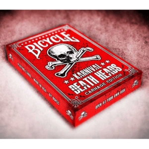 Karnival Death Heads Deck (Carnage Edition) by Big Blind Media - magischer-anzeiger.de