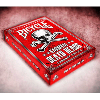 Karnival Death Heads Deck (Carnage Edition) by Big Blind Media - magischer-anzeiger.de