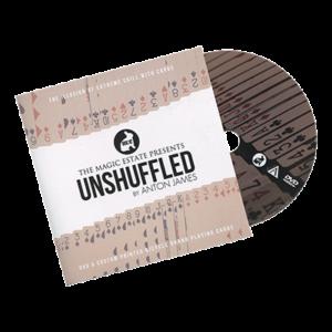 Unshuffled (DVD & Gimmicks) by Anton James - magischer-anzeiger.de