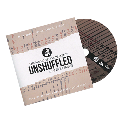 Unshuffled (DVD & Gimmicks) by Anton James - magischer-anzeiger.de