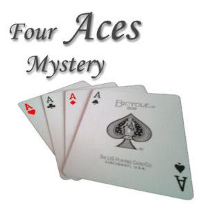 Four Aces Mystery - its-magic - vorgestellt im magischer-anzeiger.de