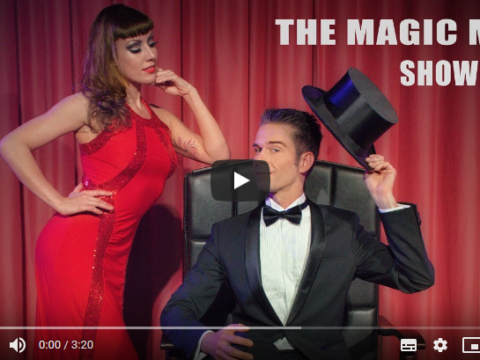 The Magic Man - Showreel - ein Youtube-Video - geteilt im magischer-anzeiger.de