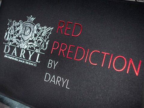 The Red Prediction - von Daryl - Zauberschuppen - vorgestellt im magischer-anzeiger.de