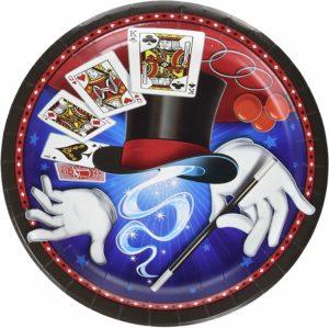 Zauberer Magie - Pappteller - Produkt im magischer-anzeiger.de
