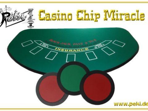 Casino Chip Mirakel von PEKI - vorgestellt im magischer-anzeiger.de
