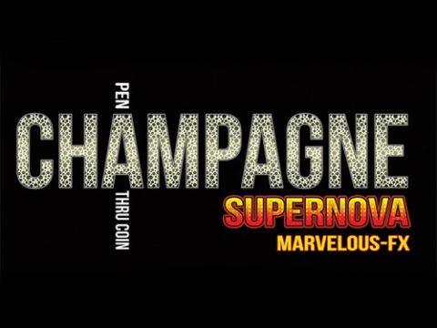 Champagne Supernova - Euro - zauberschuppen.de - vorgestellt im magischer-anzeiger.de