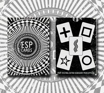 ESP Origins Deck Only (schwarz) by Marchand de Trucs - zaubershop frenchdrop - vorgestellt im magischer-anzeiger.de