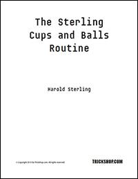 The Sterling Cups And Balls - trickshop.com - vorgestellt im magischer-anzeiger.de