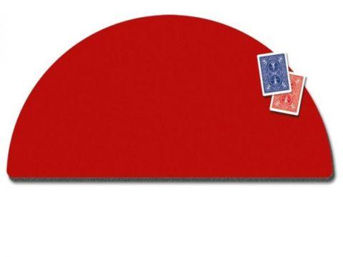 VDF Close Up Pad - Runde Form Rot - Zaubershop Frenchdrop - vorgestellt im magischer-anzeiger.de