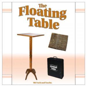 Schwebender Tisch - Floating Table - Zauberschuppen.de - vorgestellt im magischer-anzeiger.de