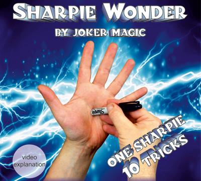 Sharpie Wonder - Zaubershop Frenchdrop - vorgestellt im magischer-anzeiger.de