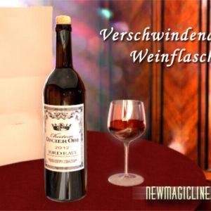 Verschwindende Weinflasche Latex deluxe - newmagicline.com - vorgestellt im magischer-anzeiger.de