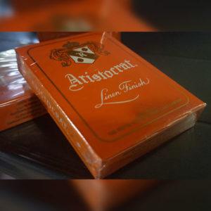Aristocrat Deck (Orange) - Zauberschuppen.de - vorgestellt im magischer-anzeiger.de