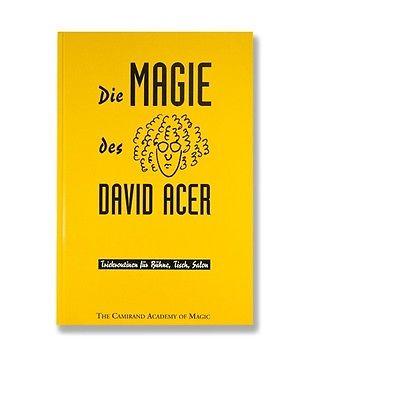 Die Magie des David Acer - ebay.com - Buchvorstellung im magischer-anzeiger.de
