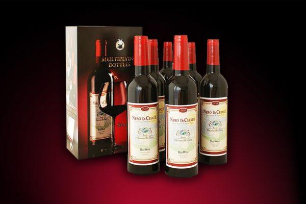 Flaschenwanderung Multiplying Wine Bottles Professional - Zaubershop Frenchdrop - vorgestellt im magischer-anzeiger.de