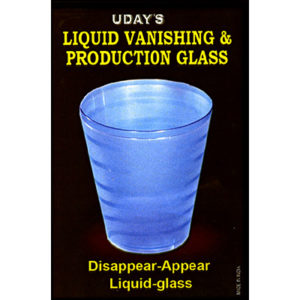 Liquid Vanish & Production Glass by Uday - Zaubershop Frenchdrop - vorgestellt im magischer-anzeiger.de