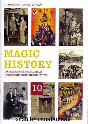 Magic Histoy, Ausgabe 10 - 2020 - mhmagazin.de - vorgestellt im magischer-anzeiger.de