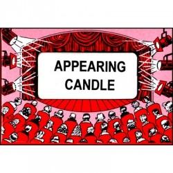 Erscheinende Kerze