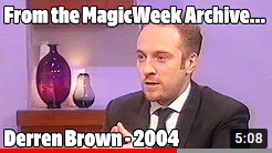 Derren Brown - Richard & Judy - 2004