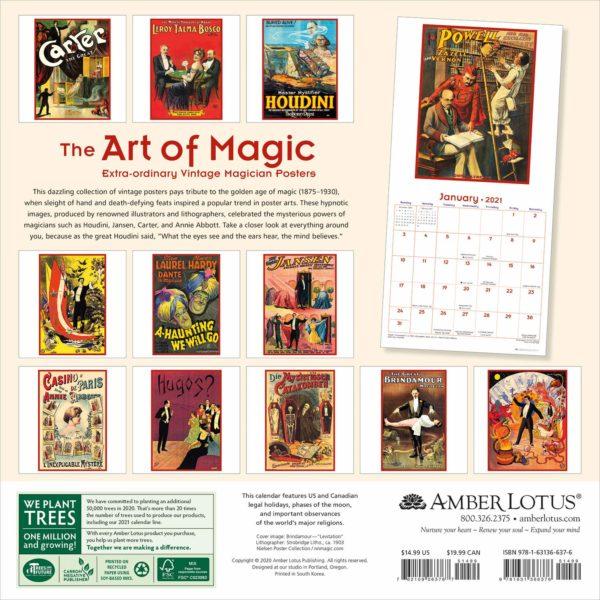 Art of Magic Kalender 2021