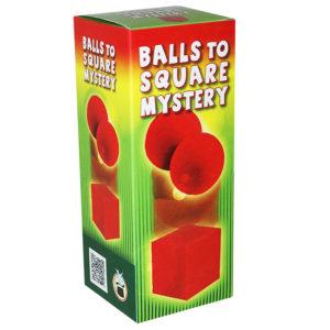 Ball zu Würfel Mysterium - Balls to square mystery