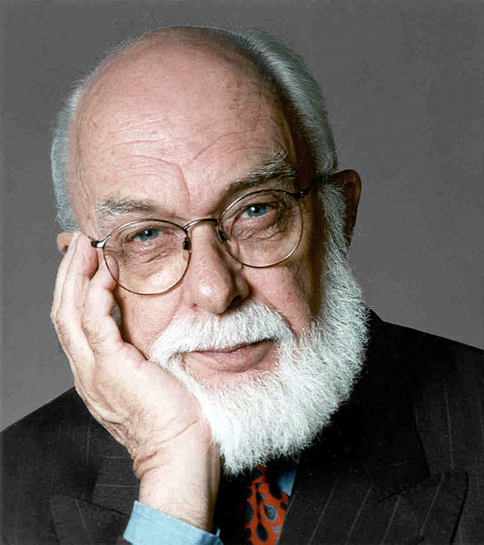 James Randi - James Randi Educational Foundation, CC BY-SA 3.0 , via Wikimedia Commons