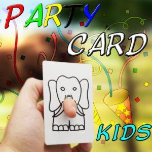 Party Card für Kinder
