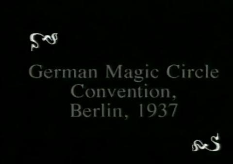1937 - 25-jähriges Jubiläum des Magischen Zirkels von Deutschland