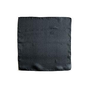 Seidentuch schwarz 30 cm