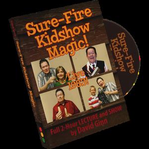 Sure Fire Kid - David Ginn DVD